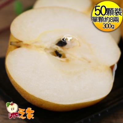 果之家 台中東勢一級鮮嫩豐水梨50顆入(8A共約27台斤)
