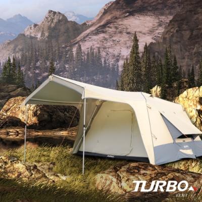 【Turbo Tent】Turbo Lite 300-3.0-一房一廳八人帳篷第3代