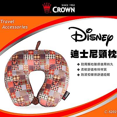 CROWN 皇冠 旅行紓壓頸枕 飛機枕 軟骨頭 迪士尼
