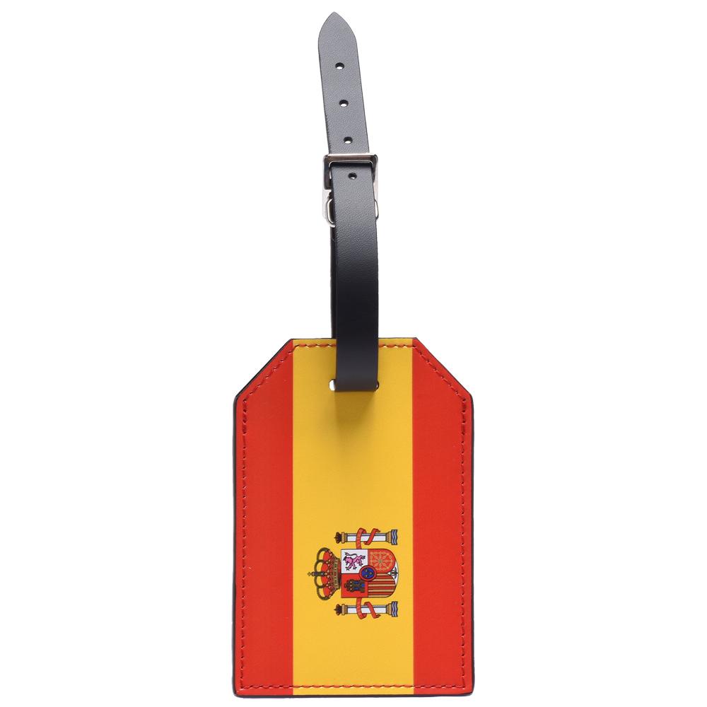 LV M63340限量款2018 FIFA World Cup西班牙國旗行李吊牌