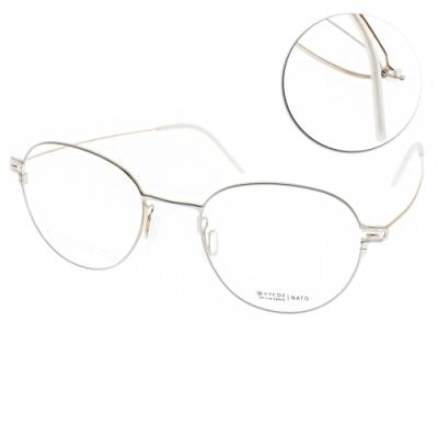 VYCOZ眼鏡 輕量簡約圓框款 /白-金 #NATO WHIGD