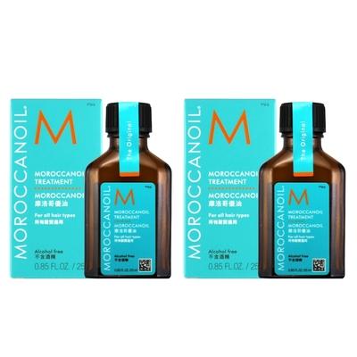 [時時樂限定]MOROCCANOIL 摩洛哥優油25ml*2入 (原廠公司貨)