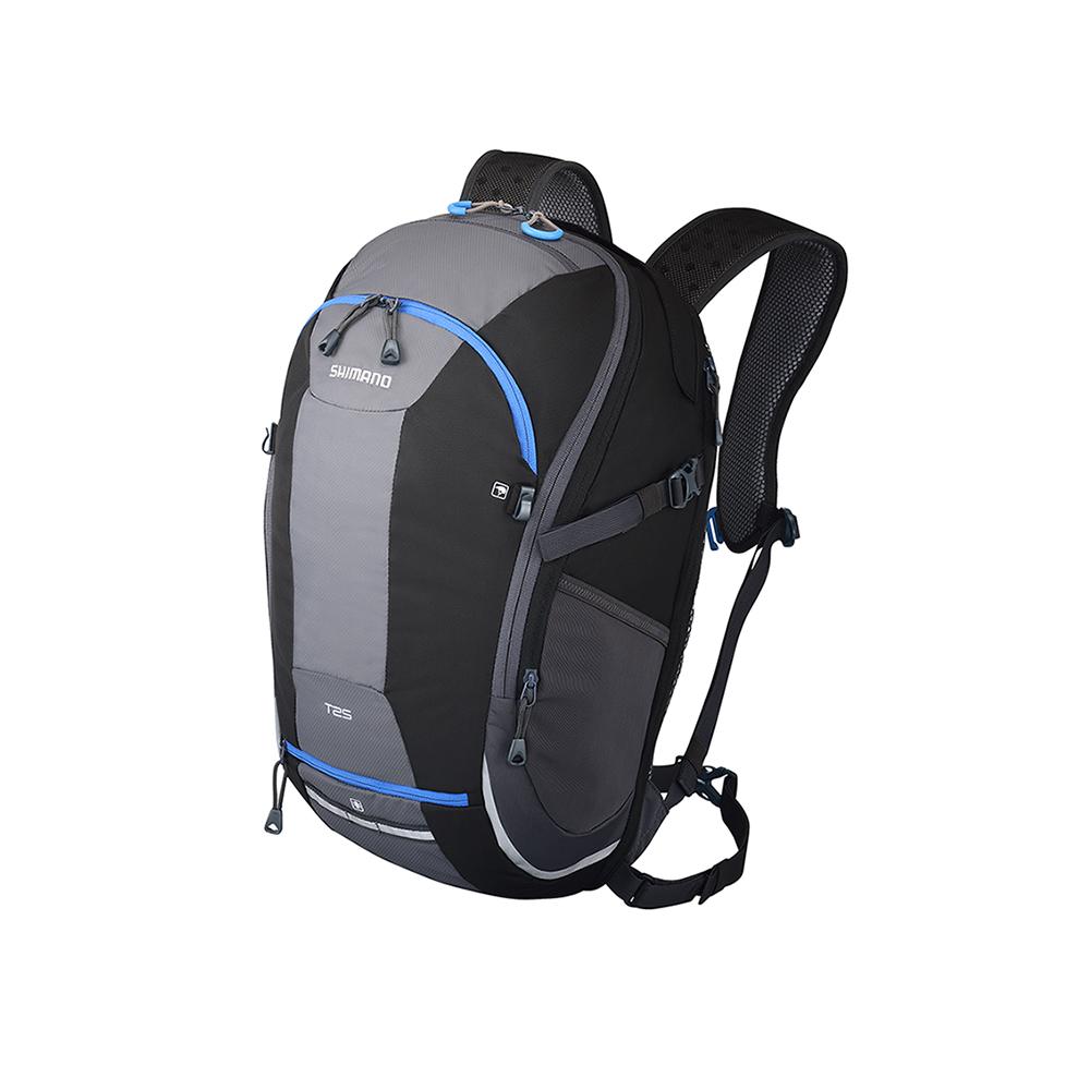 【SHIMANO 背包】TSUKINIST 15L 通勤背包 黑/藍