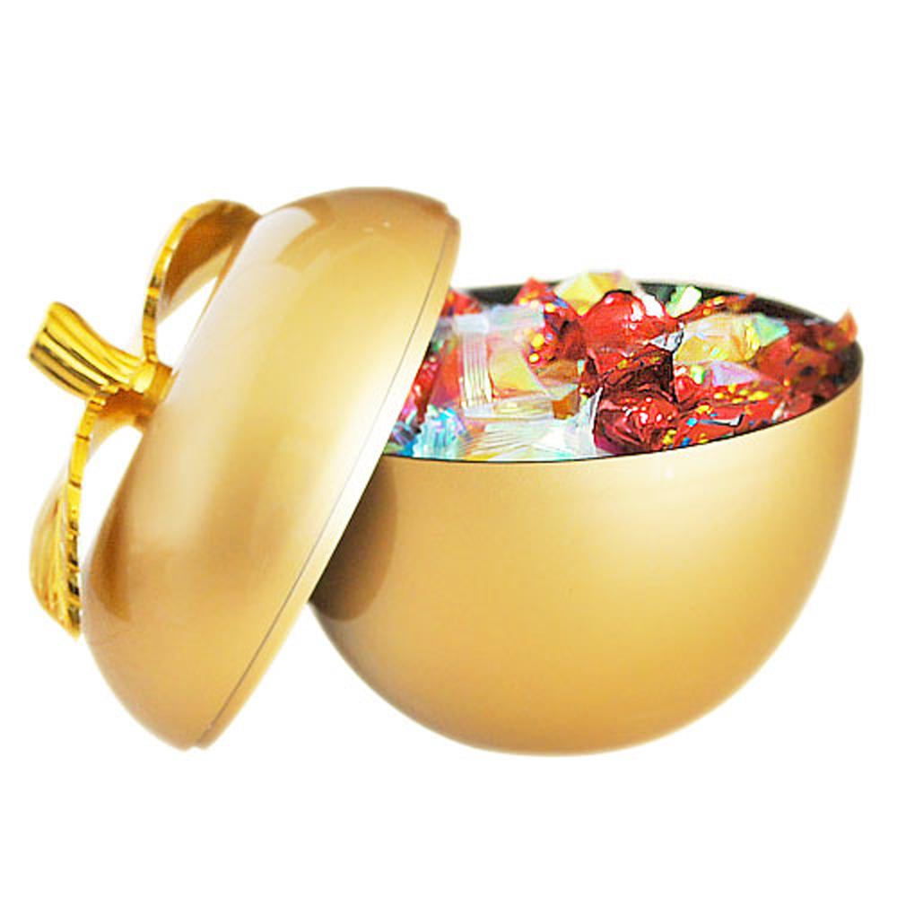 生活king 金蘋果餅盒/糖果盒 逢年過節必備