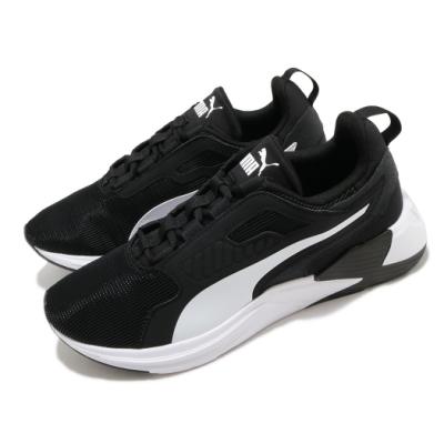 Puma 訓練鞋 Disperse XT 運動 男鞋 輕量 透氣 舒適 避震 健身房 球鞋 黑 白 19372801