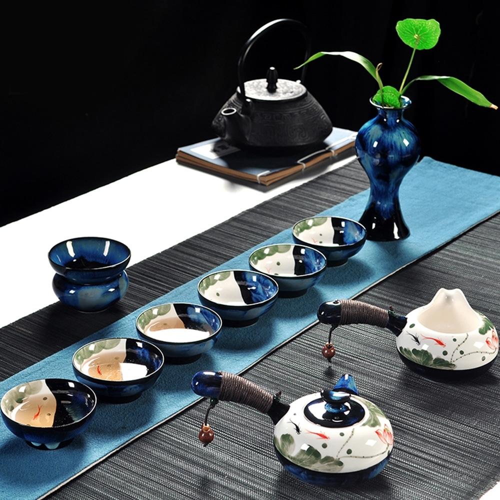 Pure 暗香疏影茶具10件組