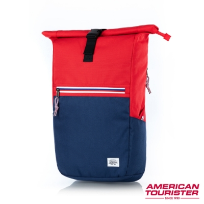 AT美國旅行者 Trent上捲式開口拉鍊筆電後背包15.6 (兩色任選)