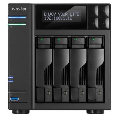 【促銷組合】華芸 AS6404T 網路儲存伺服器+WD 紅標 4TB*4