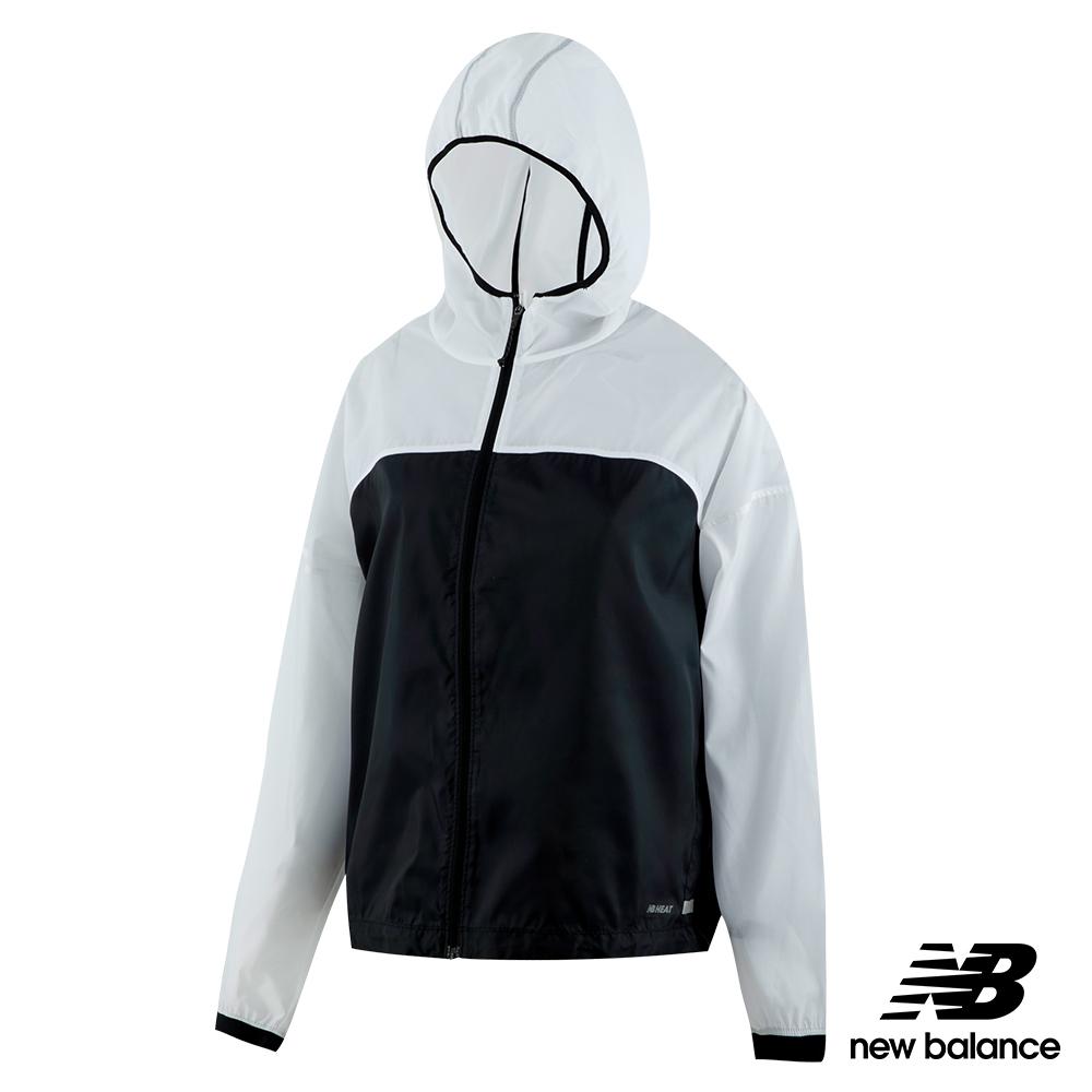 New Balance輕量可收納風衣外套AWJ91240BKW_女黑色