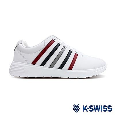 K-SWISS Proactive L時尚運動鞋-女-白/藍/紅