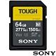 SONY SF-M64T SD SDXC 64G 64GB 277MB/S V60 TOUGH UHS-II 高速記憶卡 (公司貨) 支援 4K product thumbnail 2