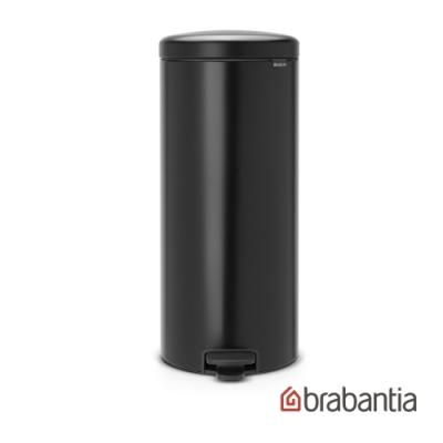 【Brabantia】NEWICON 環保垃圾桶30L-尊爵黑