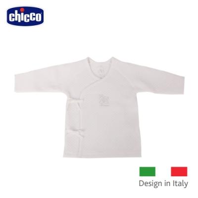 chicco-菱點夾棉肚衣-米
