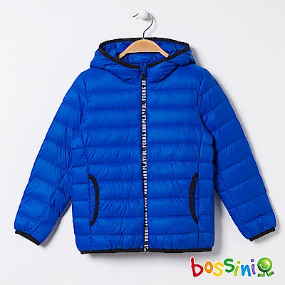bossini男童-輕便羽絨外套02藍紫