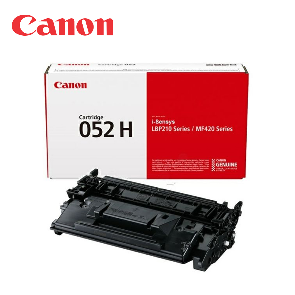 CANON CRG-052H BK 原廠黑色高容量碳粉匣