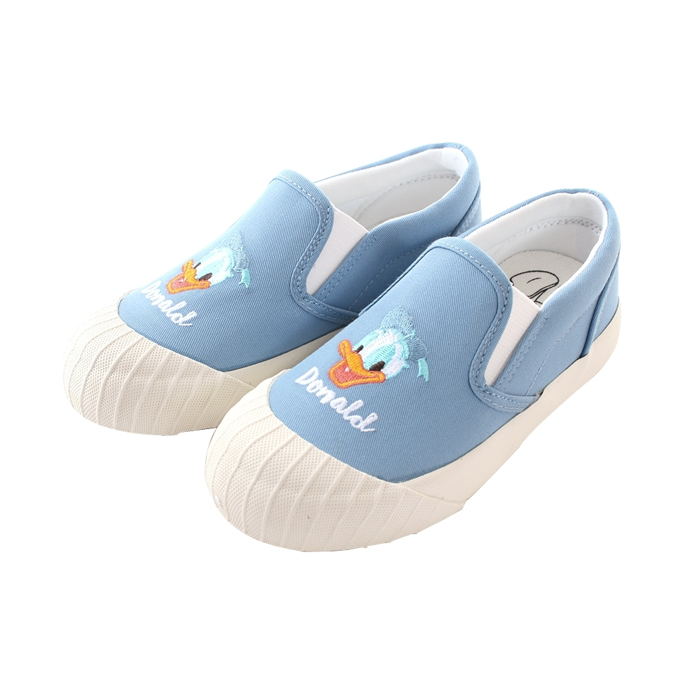 魔法Baby 女鞋 台灣製迪士尼唐老鴨正版新潮帆布鞋 sd3151