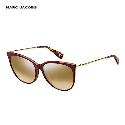 Marc Jacobs- MARC 257/F/S  都會貓眼太陽眼鏡 紅色