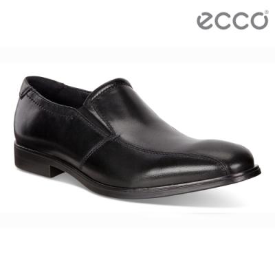 ECCO MELBOURNE 紳士商務正裝樂福鞋 男鞋-黑