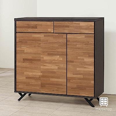 漢妮Hampton霍伯特系列積層木4x4尺鞋櫃-119x40x119cm