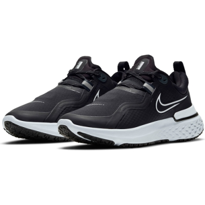 NIKE 慢跑鞋 女鞋 緩震 訓練 運動鞋  黑 CQ8249002 WMNS NIKE REACT MILER SHIELD