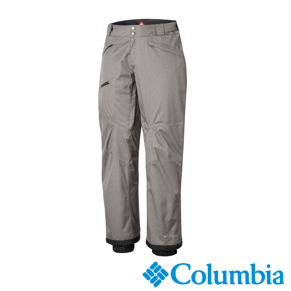 Columbia哥倫比亞 男款-Omni-HEAT防水保暖雪褲灰UWE12700