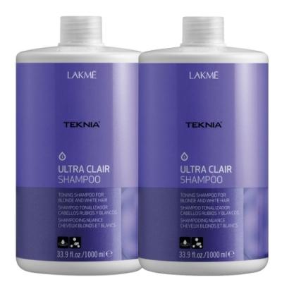 *LAKME 矯色洗髮精1000mlx2入 (含押頭)