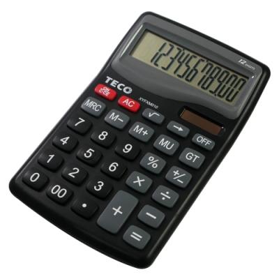 TECO東元桌上型12位元計算機 XYFXM010