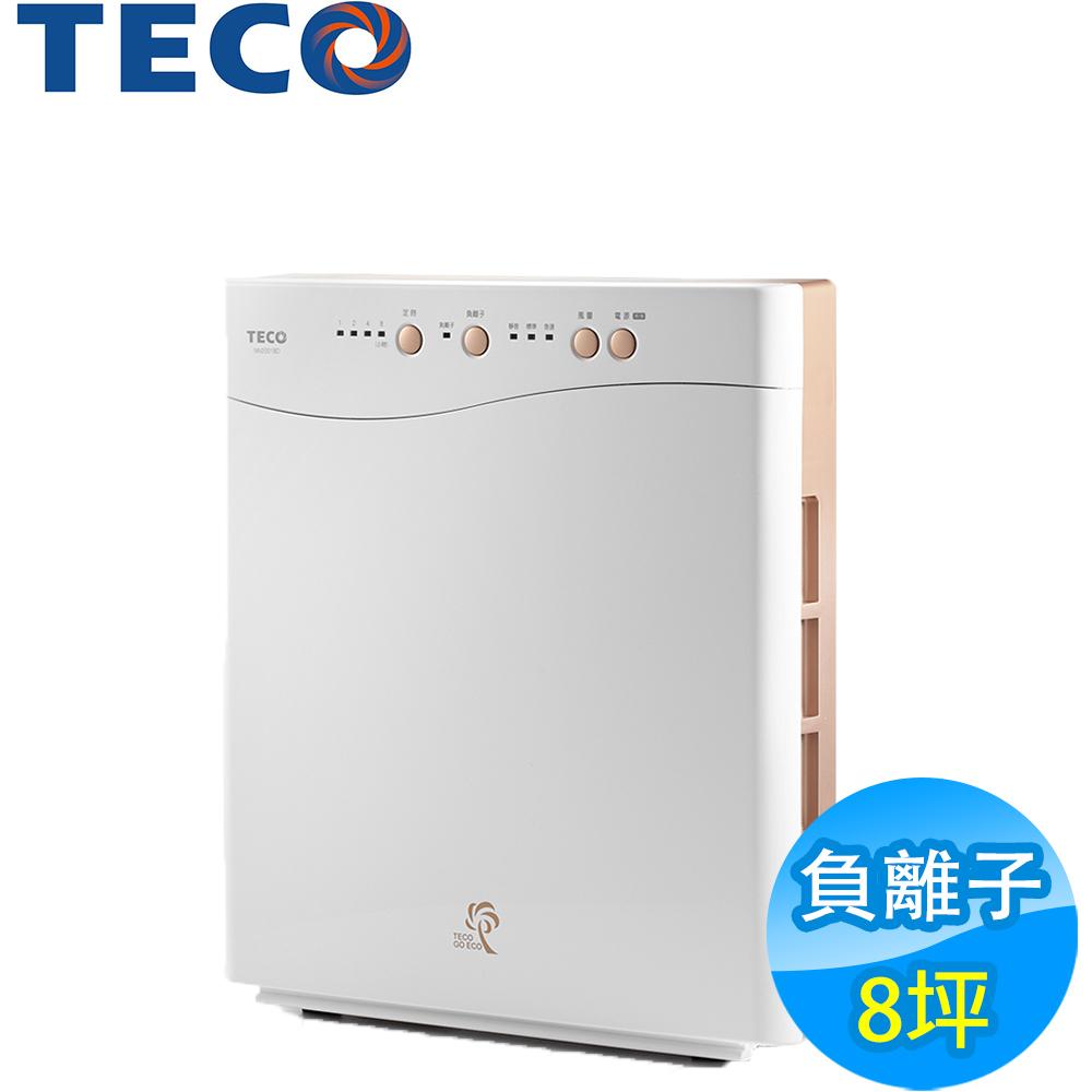 TECO東元 8坪負離子空氣清淨機 NN2001BD