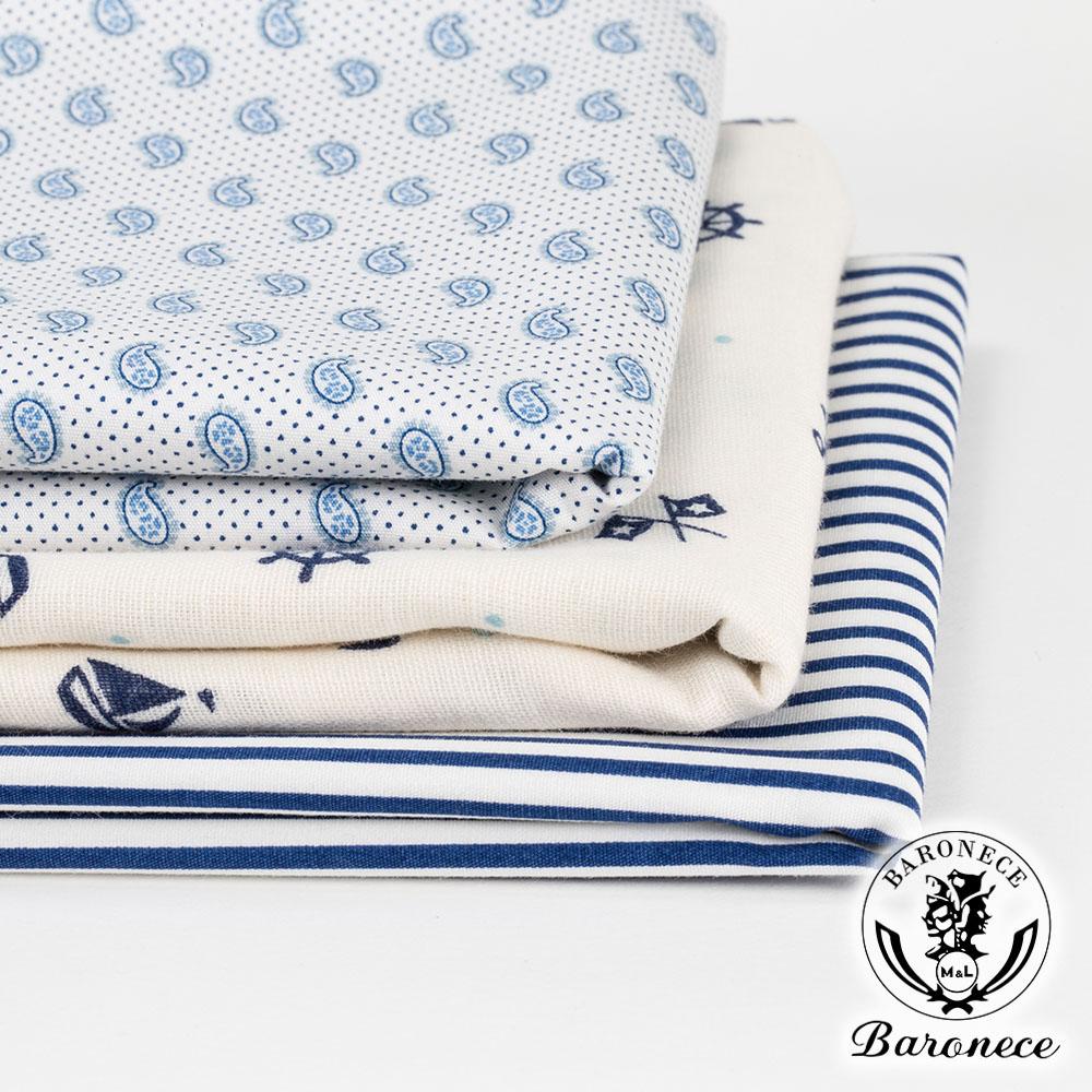 BARONECE 100%棉質口袋手帕(617608-01)