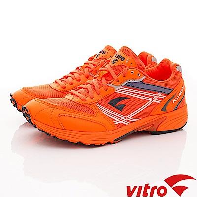 Vitro韓國專業運動品牌-KAMENII-O/N/W頂級馬拉松鞋-橘(女)