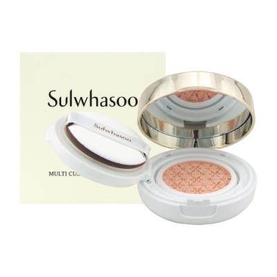 (即期品)Sulwhasoo雪花秀 聚光氣墊亮采霜8g(效期至2021年01月)