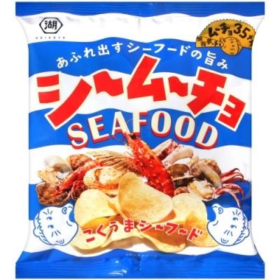 湖池屋 洋芋片-海鮮風味(55g)