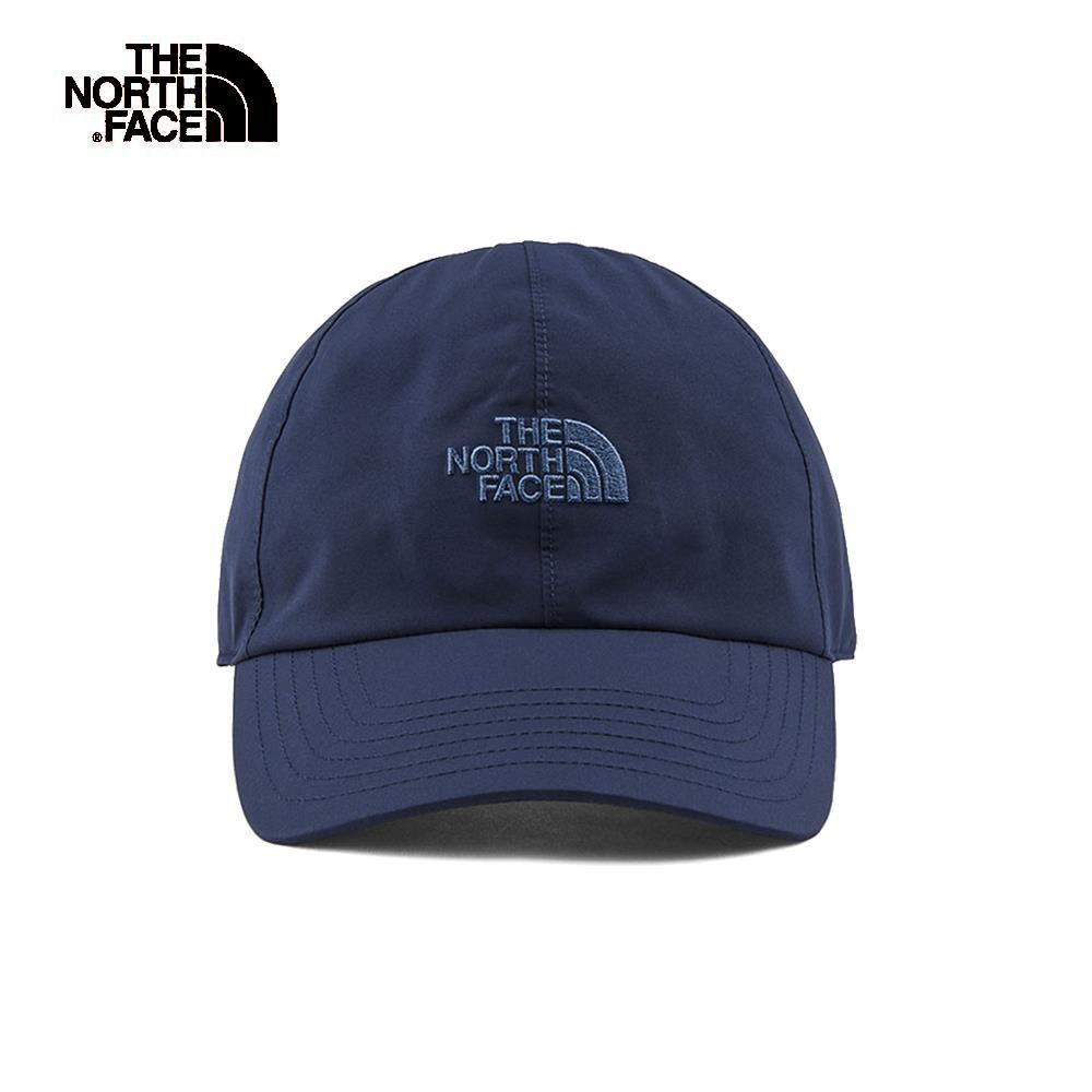 The North Face北面男女款藍色防水透氣潮流運動帽|A0BMLMW
