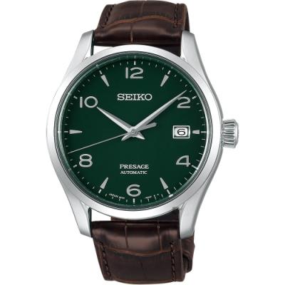SEIKO PRESAGE 綠琺瑯工藝限量錶(SPB111J1)