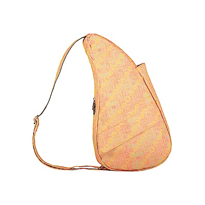 Healthy Back Bag 水滴單肩側背包-S 橙色織紋