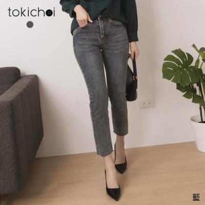 東京著衣 年度人氣高彈修身窄管牛仔褲-S.M.L