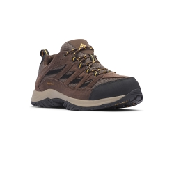 Columbia 哥倫比亞 男款- Omni-Tech 防水登山鞋-棕色 UBM53720BN