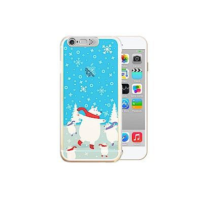 OPENBOX iPhone 6/6S 4.7吋 爆閃手機殼 動物款-北極熊