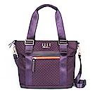 ELLE Active 自由展翼系列-多用托特包/肩背包/購物袋-紫色