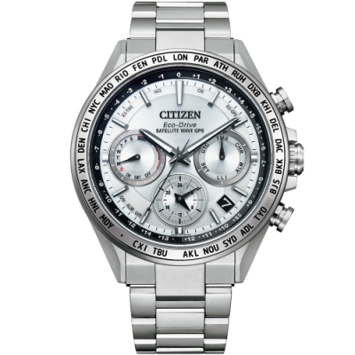 CITIZEN 星辰 限量GPS衛星對時光動能手錶(CC4010-80A)44.3mm