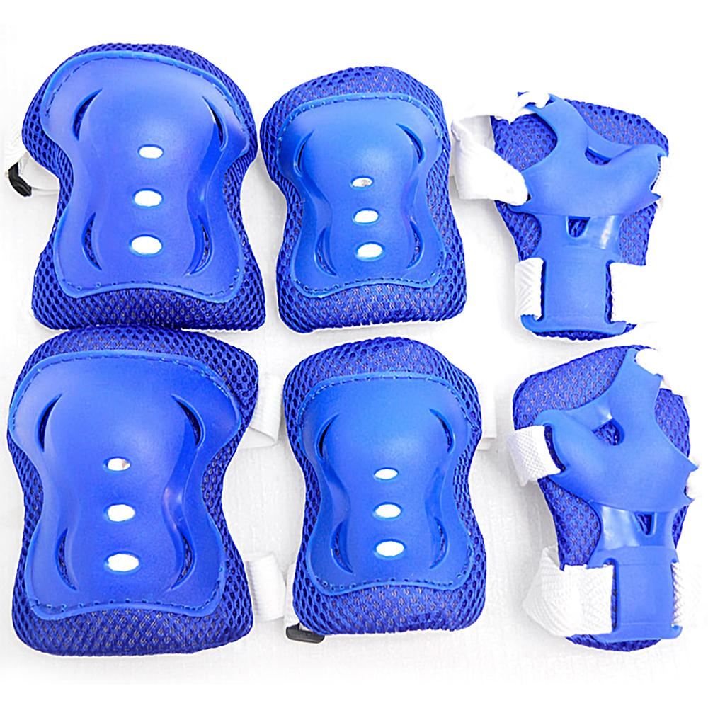 兒童六件式直排輪護具 6件組溜冰鞋護具-(快)