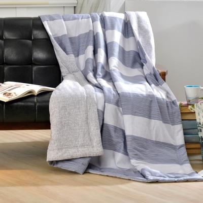 義大利La Belle 學院風範 純棉涼被 5x6.5尺