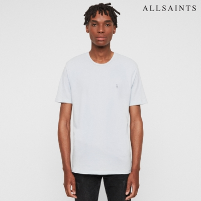 ALLSAINTS BRACE 公羊頭骨刺繡純棉修身短袖T恤三件組