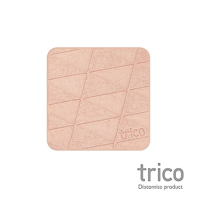 TRICO 極簡速乾珪藻土杯墊/皂墊-粉紅