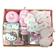 三麗鷗 Hello Kitty 凱蒂貓新生兒童玩寶寶彌月禮盒組-C款 product thumbnail 1