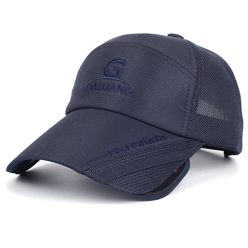 伸縮遮光板遮陽帽(棒球帽.抗UV鴨舌帽)