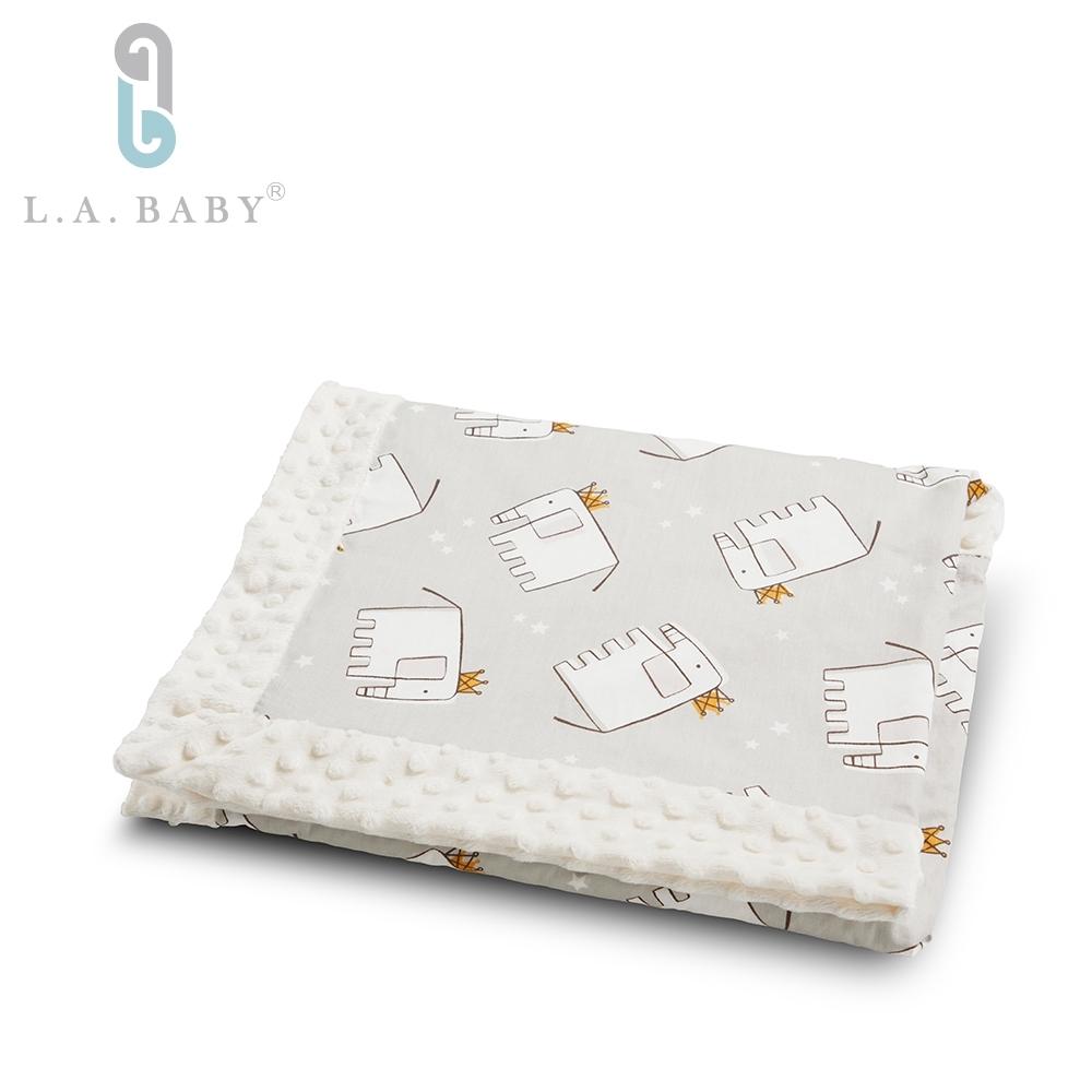 L.A. Baby     高級保暖樂豆毯 輕柔(110 x 140 cm)