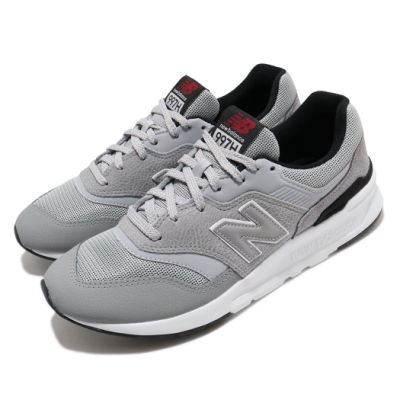 New Balance 休閒鞋 997 D 復古 低筒 男鞋 紐巴倫 潮流 穿搭 反光 舒適 灰 白 CM997HFMD