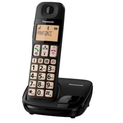 (結帳驚喜價) Panasonic國際牌KX-TGE110TW大字體數位無線電話(公司貨)