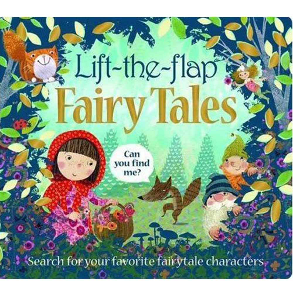 Lift The Flap Fairytales 童話故事精裝硬頁翻翻書(英國版)